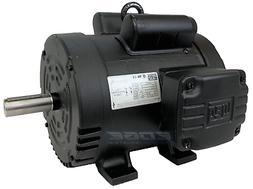 5 HP AIR COMPRESSOR DUTY ELECTRIC MOTOR 184T FRAME 1750 RPM