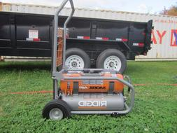 New RIDGID 8-Gal. Gas-Powered Air Compressor, Pickup only
