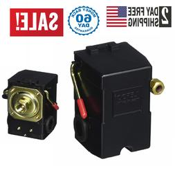 New Air compressor pressure switch replaces porter cable dew
