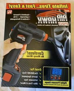 New Air Hawk  Pro Automatic Cordless Tire Inflator