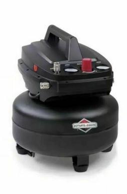 NEW Briggs & Stratton 6 gallon air compressor and or 4 gallo