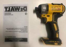 """NEW DEWALT DCF787 20V 20 Volt MAX Li-Ion 1/4"""" Hex Brushles"""