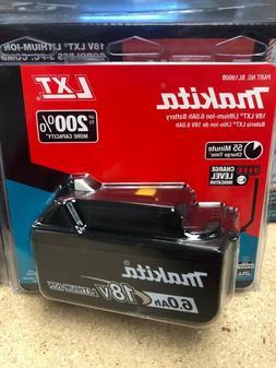 New Genuine In Package Makita BL1860B 18V Battery 6.0 AH LED