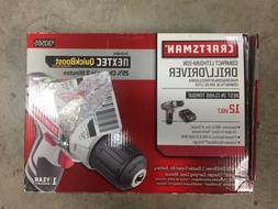 Craftsman Nextec 12 Volt High Torque Compact Drill/Driver 30