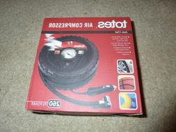 nib TOTES TIRE-SHAPED AIR COMPRESSOR : NEW IN BOX : MSRP: $4