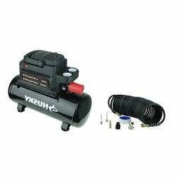 Husky 2 Gallon Oil-Free Air Compressor 100psi .33 HP New Com