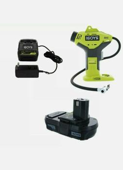 Ryobi P737 18-Volt ONE+ Portable Cordless Power Inflator for