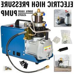 110V PCP 30MPa Electric Air Compressor Pump High Pressure Sy