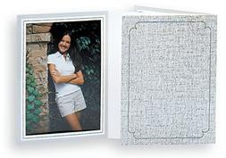 Tap PF-16 Light Gray Photo Folder for a 4x6 photo - Pack of