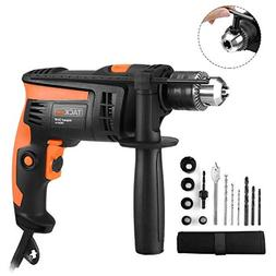 Tacklife PID01A Hammer Drill 6.0 Amp 1/2 In. 2800rpm Reversi