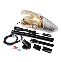 Portable 4 in 1 Car Dual Use Vacuum Cleaner Handheld Car Aut