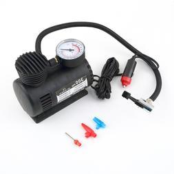 portable 12v auto tire infaltor pump 300