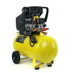 Portable 3.5HP Quiet Air Compressor 10-Gallon Tank - Ultra C