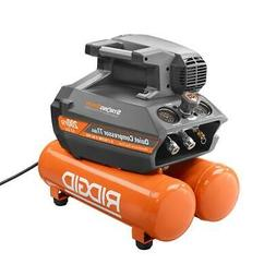 RIDGID 200 psi Portable Air Compressor 4.5 Gallon Electric Q