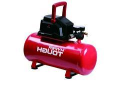 Portable Air Compressor Hotdog Tank Garage Oil Free Pump 3 G