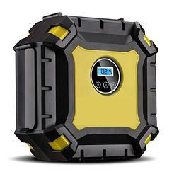Portable Air Compressor Pump, Auto Digital Tire Inflator wit