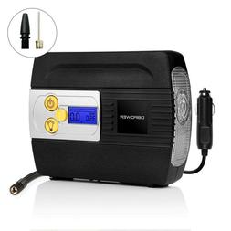 Portable Air Compressor Pump for Cars, Bikes and Inflatables