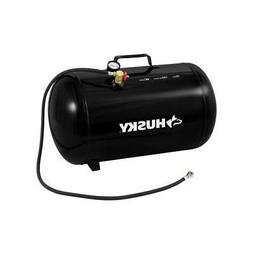 "Portable Air Compressor Steel Tank 10 Gallon 150 PSI 48"" Val"