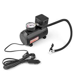 Flexzion Portable Air Compressor Tire Inflator 250 PSI 12V C
