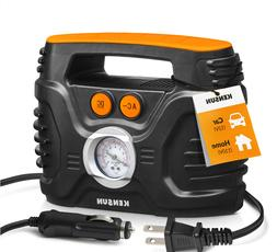Portable Air Compressor Tire Inflator by Kensun, AC/DC for C