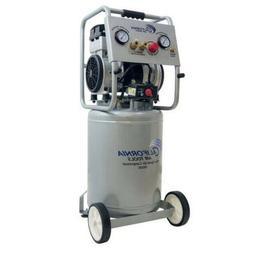 PORTABLE AIR COMPRESSOR Ultra Quiet Oil-Free Pump Steel 10 G