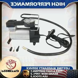 portable car auto electric air compressor tire