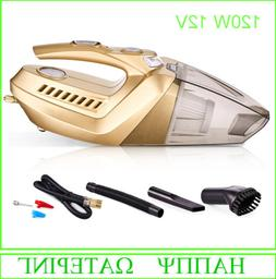 Portable DC12V Car Vacuum Cleaner 120W Wet And Dry Dual Use