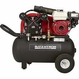 NorthStar Portable Gas-Powered Air Compressor 20-Gal Hor Tan