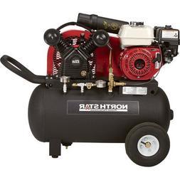 NorthStar Portable Gas-Powered Air Compressor -Honda 163cc O