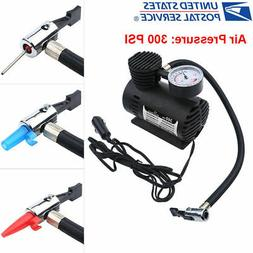 Portable Mini Air Compressor Electric Tire Infaltor Pump 12