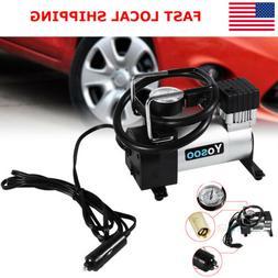 Portable Mini Metal 100PSI Auto Car Air pump Compressor Tire