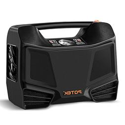 Potek Portable Tire Inflator/Air Compressor 100 PSI Electric