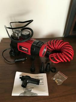 Craftsman 12V Portable Tire Inflator Air Compressor Pump Car
