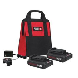 Porter-Cable 20V MAX Charger and Batteries Accessory Set PCC