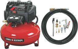 PORTER-CABLE C2002-WK Oil-Free UMC Pancake Compressor-NEW IN