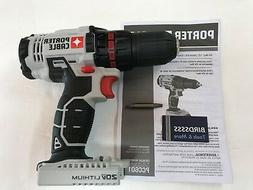 """Porter Cable 18V NiCad OR Li-Ion Cordless 1/2"""" DRILL DRIVER"""