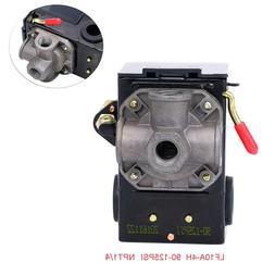 Lefoo Pressure Switch Control 90-125psi 4 Port Heavy Duty 26