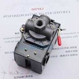 Pressure Switch Control Valve Air Compressor 90-120PSI 4 POR