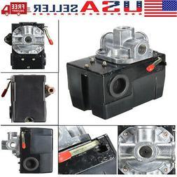 Pressure Switch Control Valve Air Compressor  95-125PSI 4 PO