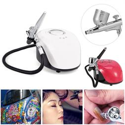 Professional Airbrush makeup kit with <font><b>Compressor</b