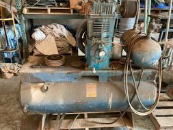 Qunicy 370 compressor, 50 CFM, No motor included