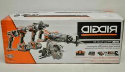 RIDGID TOOL COMPANY R9652 18V Tool Combo Kit