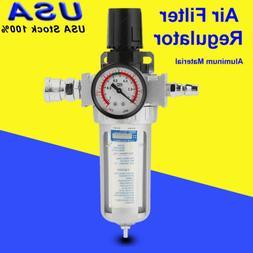 "RC1/4"" Pneumatic  Air Compressor Filter Regulator Pressure G"