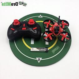 DROMITE RED RTF FPV DRONE WITH CONTROLLER AND LANDING PAD