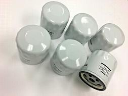 6 PACK - REPLACEMENT OIL FILTER FOR QUINCY COMPRESSOR PART #