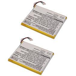 2x 3.7V Battery Replaces WR-E589 Empire BLI-1269-2.6 Fits Hu