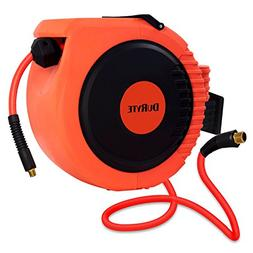 DuRyte Pro Retractable Air Hose Reel with Excellent Optional