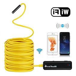 BlueFire Semi-Rigid Flexible Wireless Endoscope IP67 Waterpr