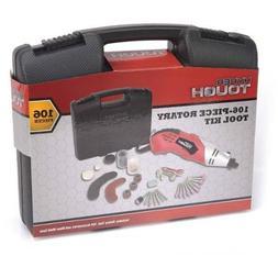 Hyper Tough 106-Piece Rotary Tool Kit