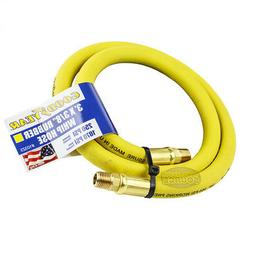 """Goodyear Rubber Hose Whip 3' ft. x 3/8"""" in. 250 PSI Air Comp"""